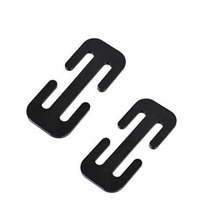 Cunina Metal Car Seat Belt Locking Clip 2 Pack
