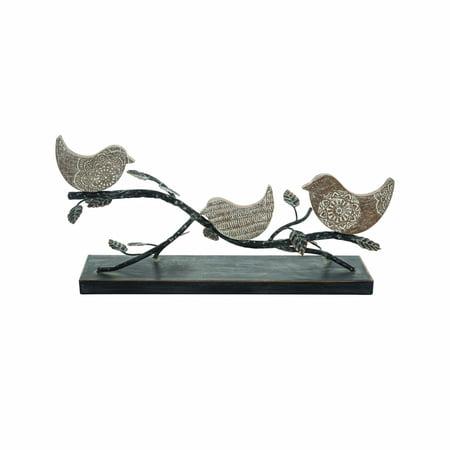 Birds On A Branch Table Art ()