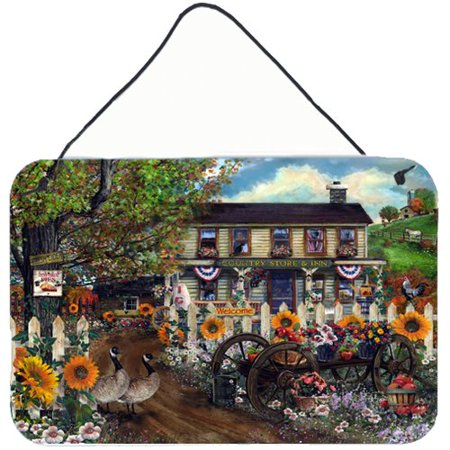 Caroline's Treasures Sunflowers and The Old Country Store by Tom Wood Painting Print (Stores That Sale Toms)