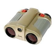 xinxinxx 4X30 Telescope Night View Pop-up Light Scope Kids Binoculars Outdoor Camping Equipment, Green Film