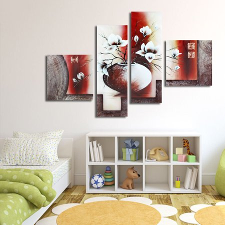 On Clearance 1/3/4 Pcs Frameless Canvas Prints Pictures, Morden Abstract Paintings, Canvas Wall Art, Home Decor