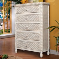 Sea Winds Trading Santa Cruz 5 Drawer Chest