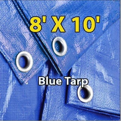 8m x 12m Heavy Duty Multipurpose Tarpaulin Waterproof Cover Tarp Ground Camping