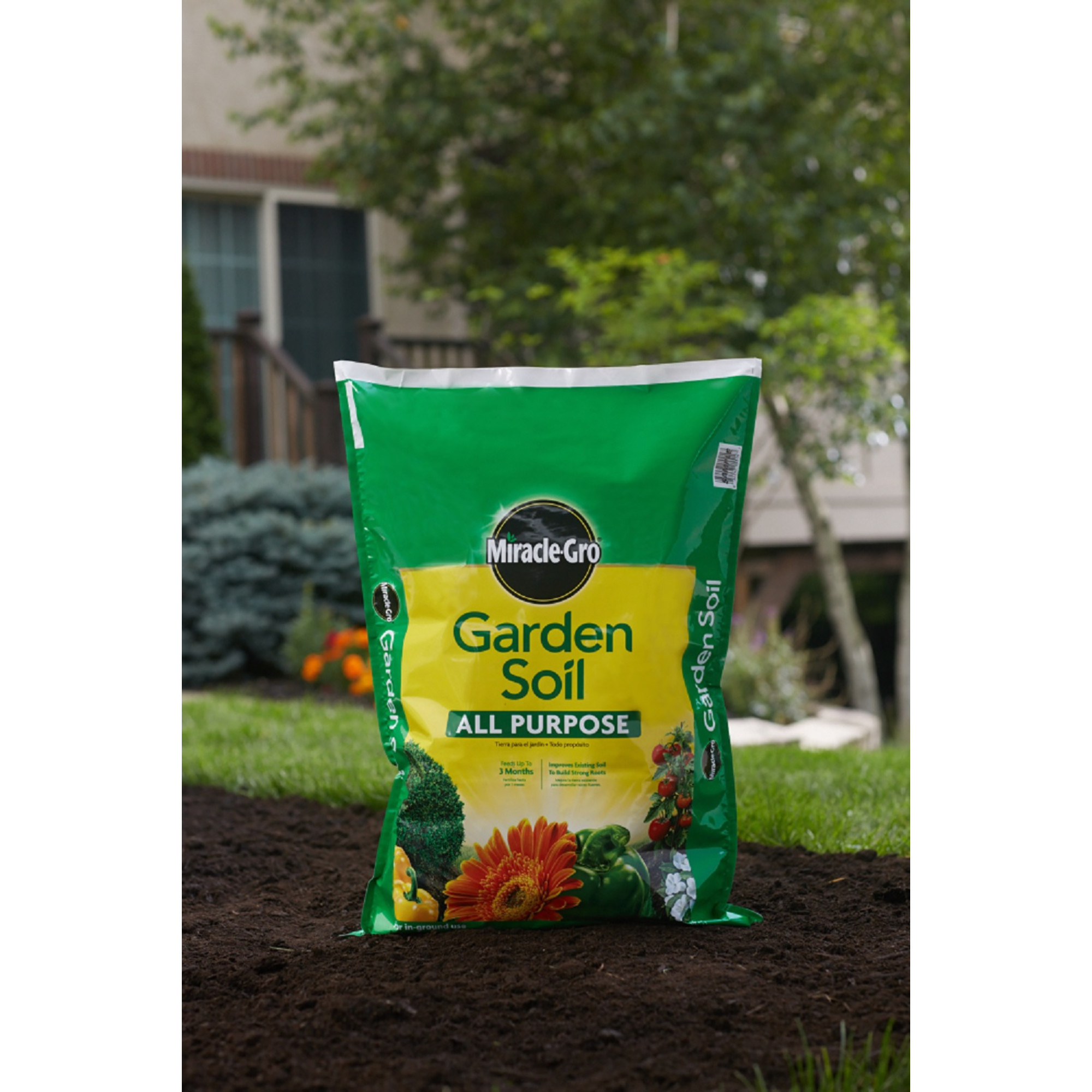 miracle gro garden soil all purpose 075 cf walmartcom - Walmart Garden Soil
