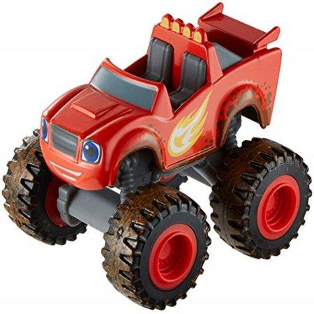 Fisher-Price Nickelodeon Blaze & the Monster Machines, Mud Racin' Blaze Vehicle](Monster Machines)