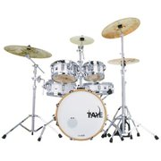 Taye GK518F-WP 5 Piece Gokit Hardware Drum Pack, White Pearl