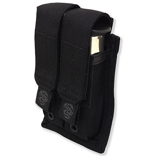Double Pistol Mag Pouch with Griptite