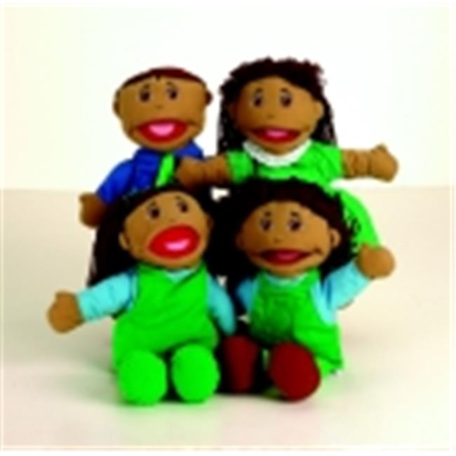 Marvel Education Hispanic Family Puppet Set