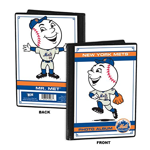 New York Mets Mascot 4x6 Mini Photo Album - Mr. Me