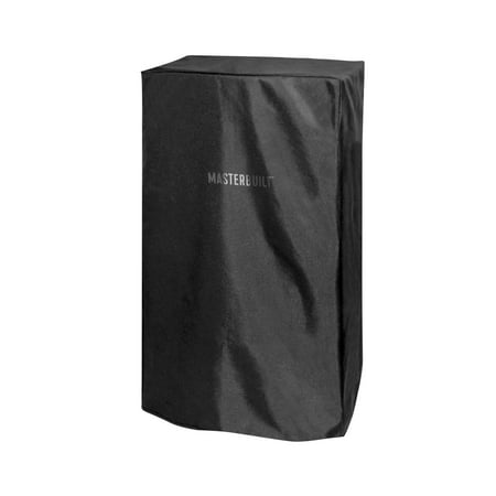 Masterbuilt 38 Inch Weather Resistant Protective Electric Smoker Cover, Black