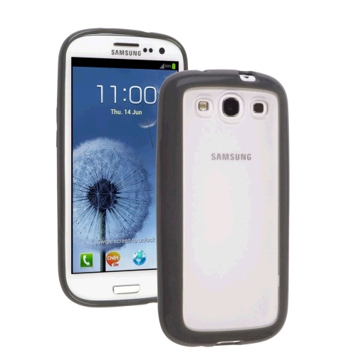 Ventev DuraSHELL Case for Samsung Galaxy S III - Clear/Gray