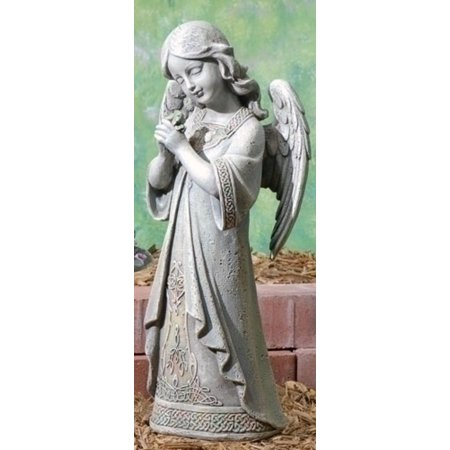 "15"" Joseph's Studio Praying Celtic Irish Angel Outdoor Garden Statue - image 1 of 1"