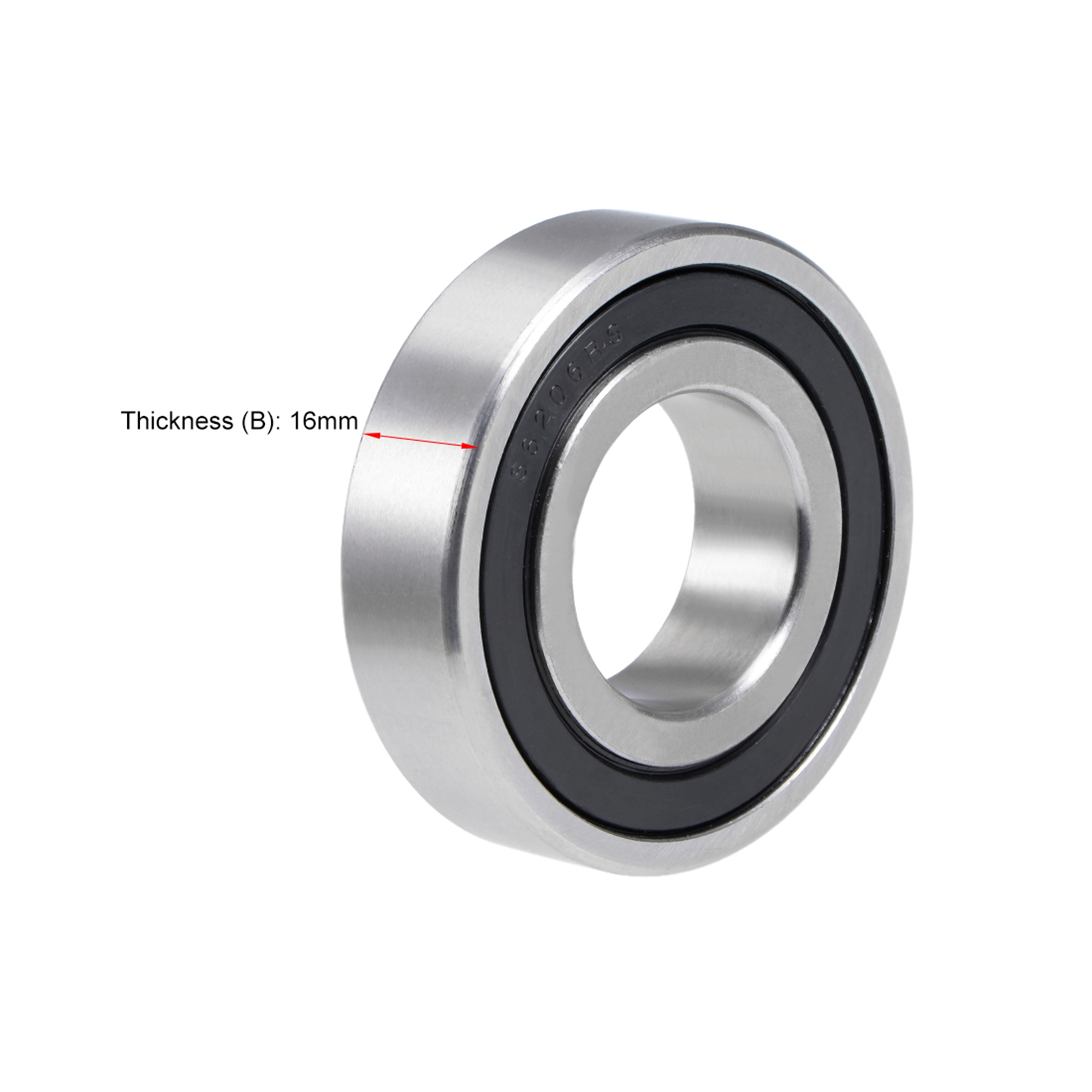 SS6206-2RS Stainless Steel Bearing S6206-2RS