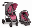 Urbini Turni 3 in 1 Travel System, Frosted Tulip