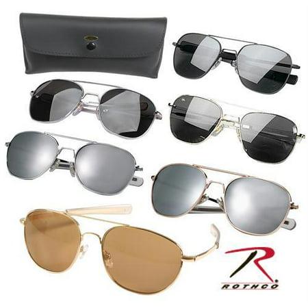 10804 G.I. Type Pilot's Aviator Sunglasses 58MM (Types Of Sunglasses Mens)