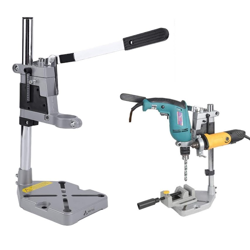 Drill Press Table Multifunctional Carbon Steel Speed Drill Press Stand Bench Clamp Rotary Tool Workstation