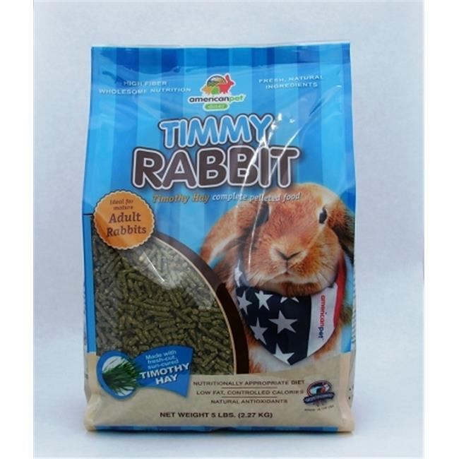 American Per Diners 210 Timmy Rabbit Pellets 5lb by American Pet Diner
