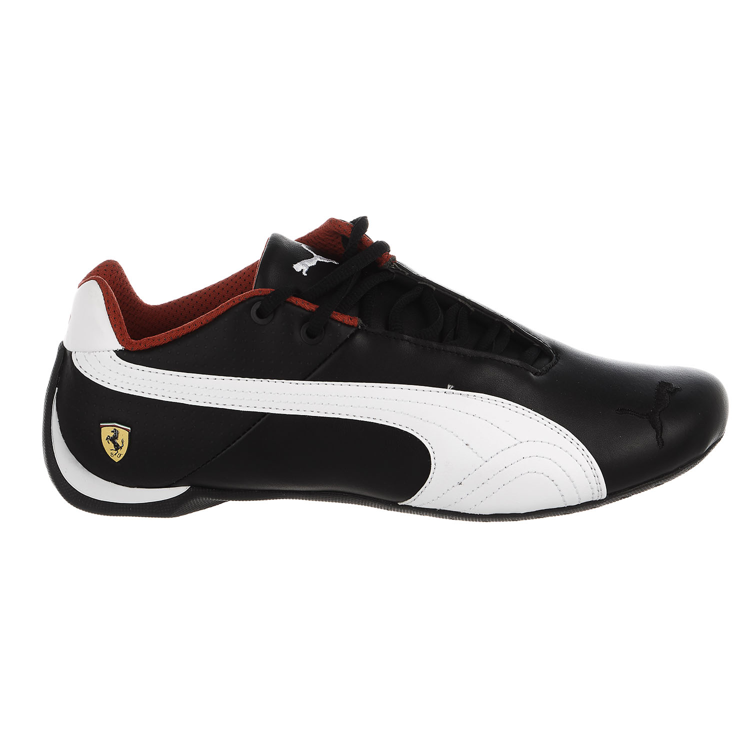 8288faf5be2 Puma Ferrari Future Cat OG Sneaker - Black White Black - Mens - 8 -  Walmart.com
