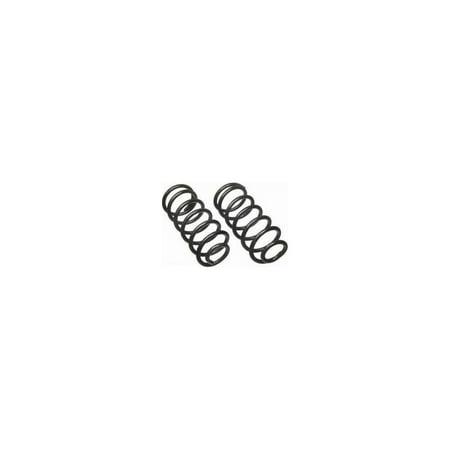 Moog 9260 Coil Springs, Front (Oniyuri 9260 Custom Bujinkan Spring Steel Katana)
