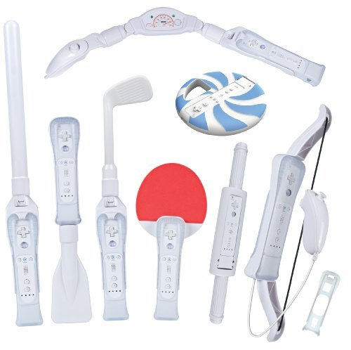 CTA Digital Nintendo Wii 8-In-1 Sports Pack For Wii Sport Resort (Wii)