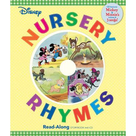 Disney Nursery Rhymes Read-Along Storybook and CD (Halloween Story Read Along)