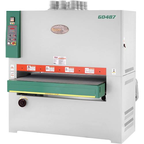 """Grizzly G0487 51"""" 30 HP 3-Phase Double Wide-Belt Sander"""