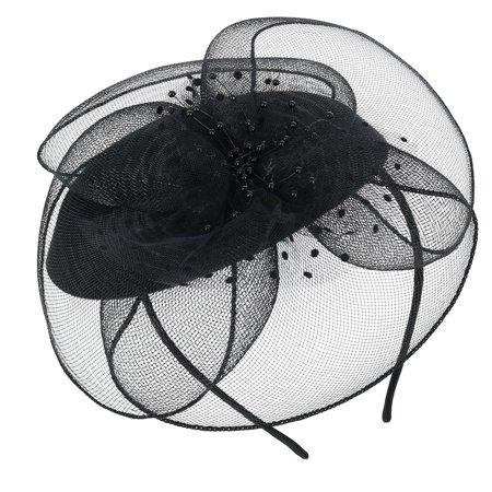 Jeanne Simmons Women's Net Flower Headband - image 4 de 6