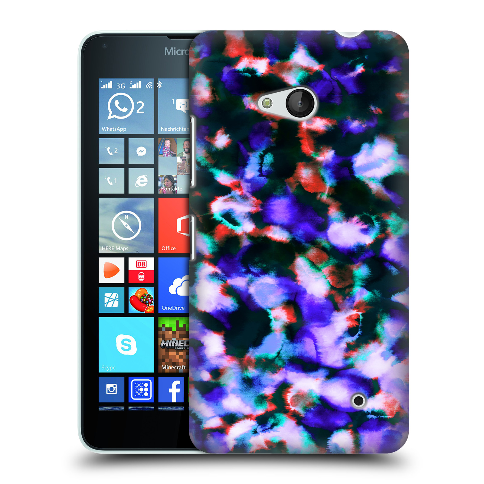 OFFICIAL AMY SIA ICE HARD BACK CASE FOR MICROSOFT PHONES