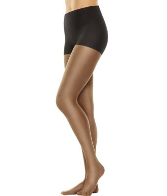 Hanes Perfect Nudes Size Med Tummy Control Sheer Waist Pantyhose Hosiery LOT 12