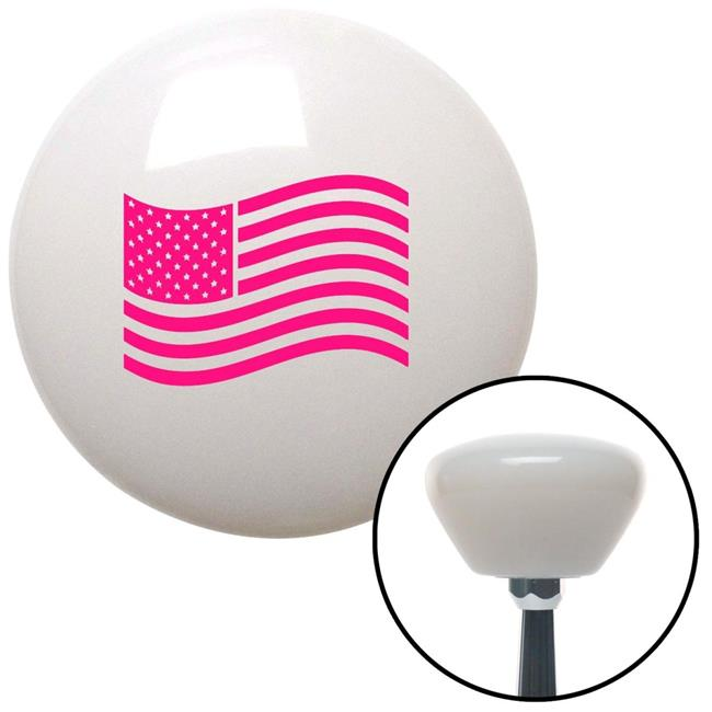 American Shifter 273494 White Speed Racer Stripe Shift Knob with M16 x 1.5 Insert
