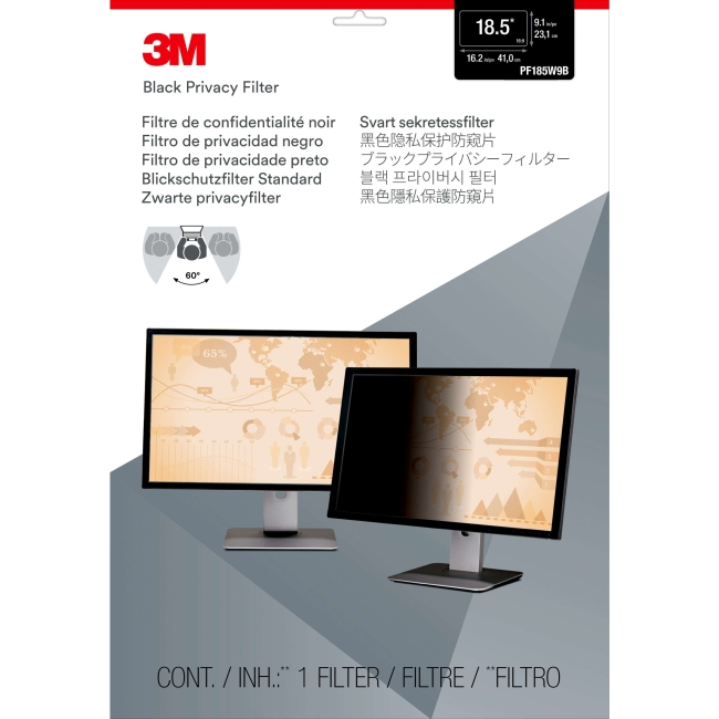 3M Laptop/LCD Privacy Computer Filter, PF18.5W