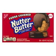 Nutter Butter Peanut Butter Sandwich Cookies Fudge Covered