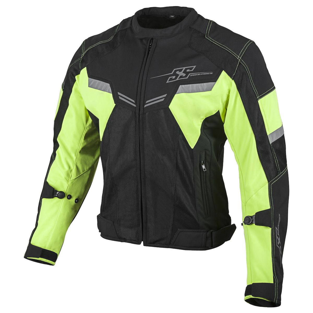 Speed & Strength Power Glory Mens Mesh Jacket Hi Vis/Black