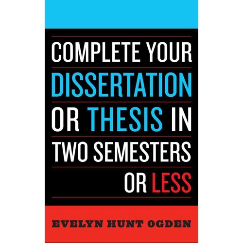 complete your dissertation 6 months Complete dissertation 6 months - let the professionals do your homework for you use this service to receive your profound paper handled on time get started with.
