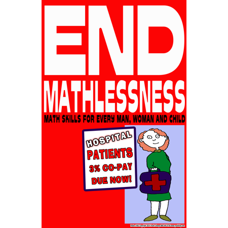 Youth Change Poster #362 Motivate Math Students with End Mathlessness Classroom Poster