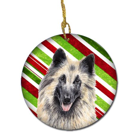 Belgian Tervuren Candy Cane Holiday Christmas Ceramic (Tervuren Ornaments)