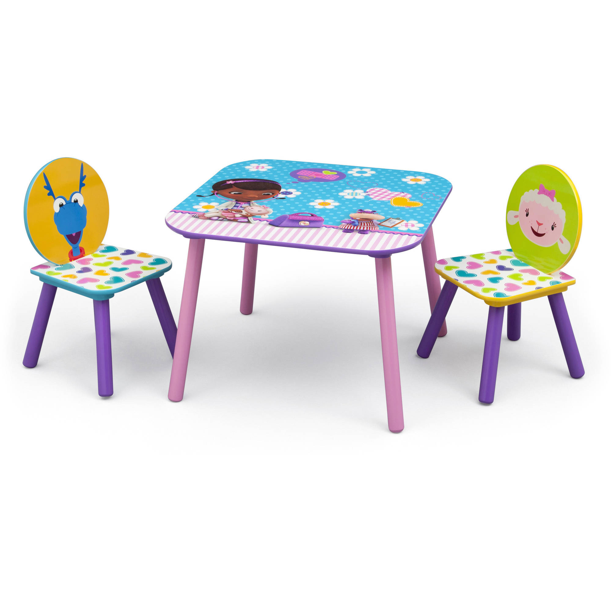 Disney Jr. Doc McStuffins Table and Chairs Set Multi-Color - Walmart.com  sc 1 st  Walmart & Disney Jr. Doc McStuffins Table and Chairs Set Multi-Color ...