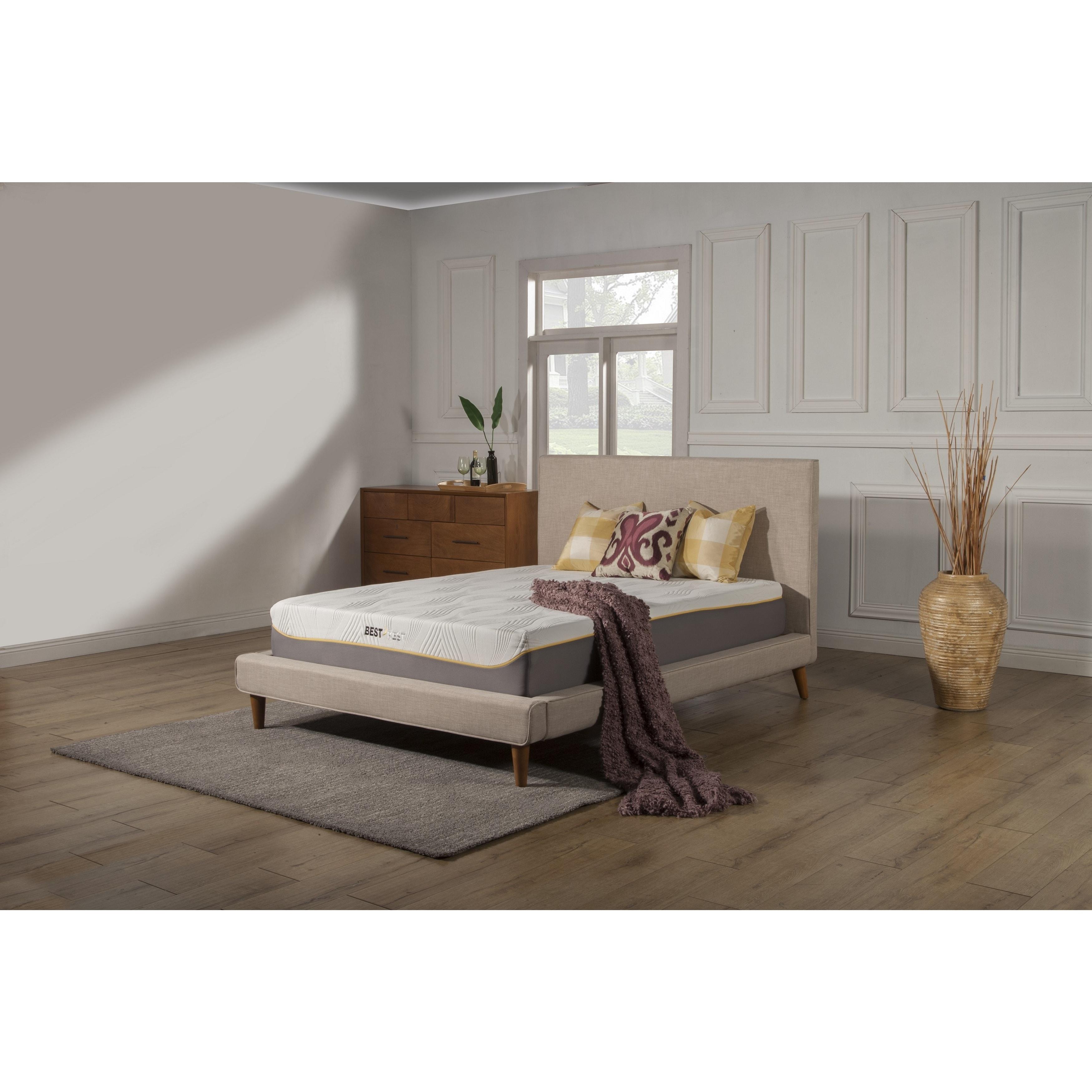 Kittrich Best Rest 11-inch Full-size Gel Memory Foam Mattress