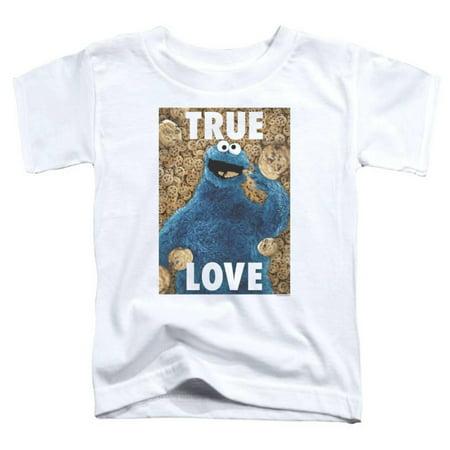 Toddler: Sesame Street- Cookie Monster True Love Apparel Baby T-Shirt - (True Love Tee)