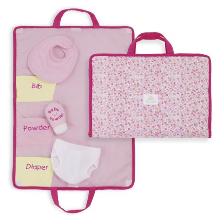Company Rosy Cheeks Baby Changing Pad Set, Fits Rosy Cheeks Baby doll By North American Bear Ship from