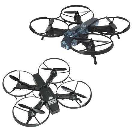 Call of Duty Two Battle Drones RC Rechargeable Quadcopter with 2 Remote Controls by