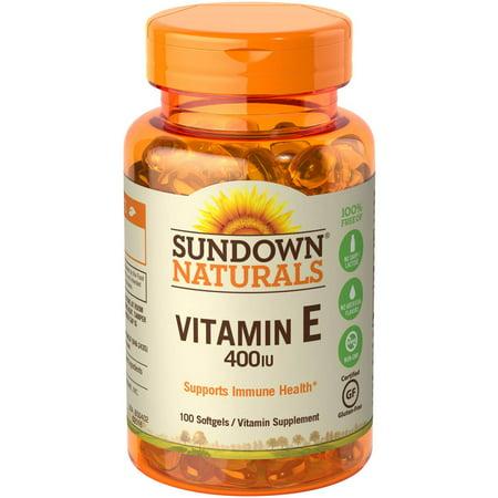 Sundown Naturals Vitamin E Oil Walmart