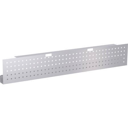 Lorell, LLR61632, Training Table Steel Silver Modesty Panel, 1 Each, Metallic - Lorell Steel Table