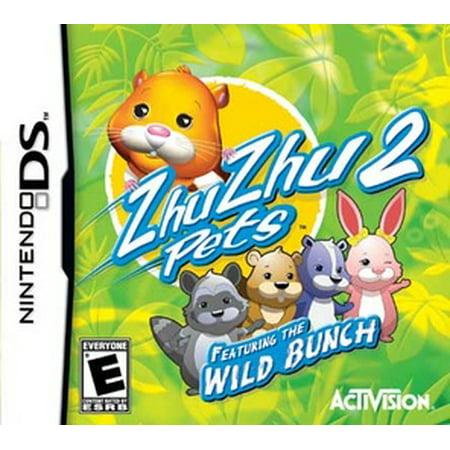 Zhu Zhu Pets Wild Bunch, Activision, Nintendo DS, 047875764408 Pet Vet Nintendo Ds