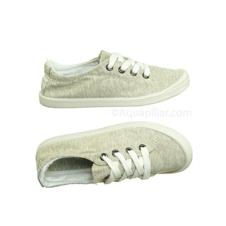2edfed0e7 Forever Link - Comfort01K by Forever Link, Kids Vintage Flexible Rubber  Sneaker - Children Canvas Comfort Shoes - Walmart.com