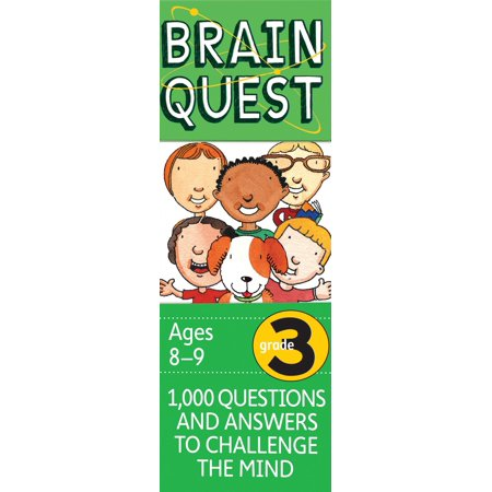 Brain Quest Decks: Brain Quest Grade 3, Revised 4th Edition: 1,000 Questions and Answers to Challenge the Mind (Hardcover)](Halloween Centers Grade 3)