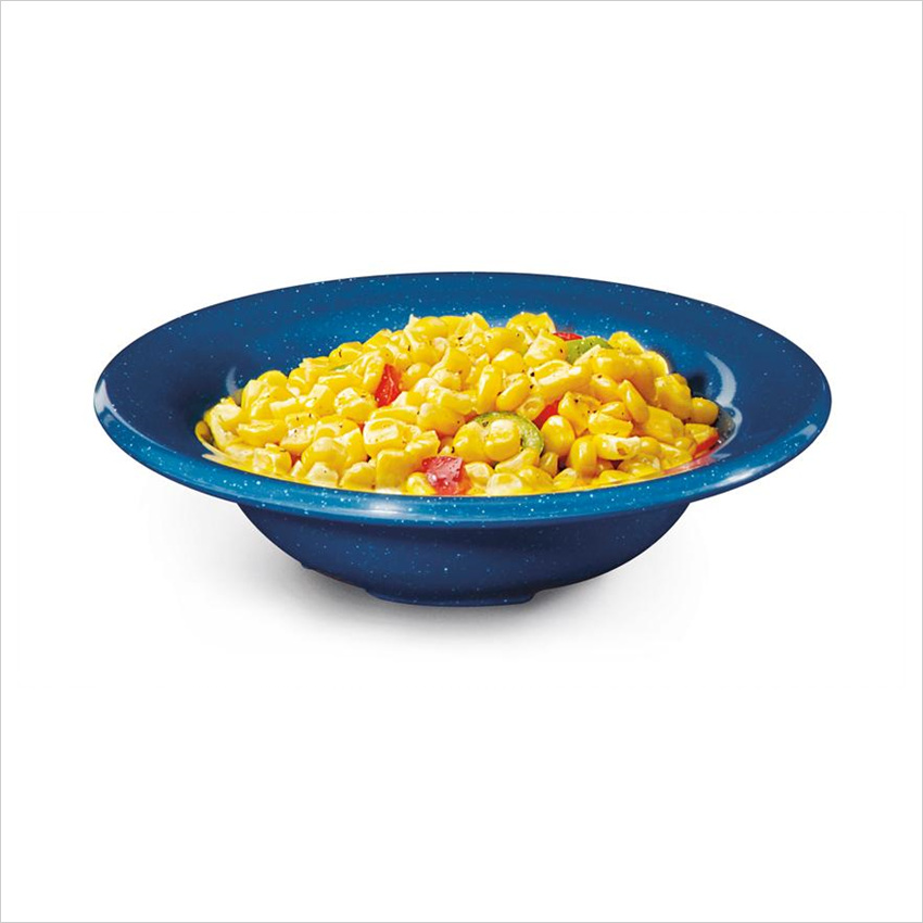 Texas Blue 10 oz 6.25 x 1.5 Bowl Melamine/Case of 48