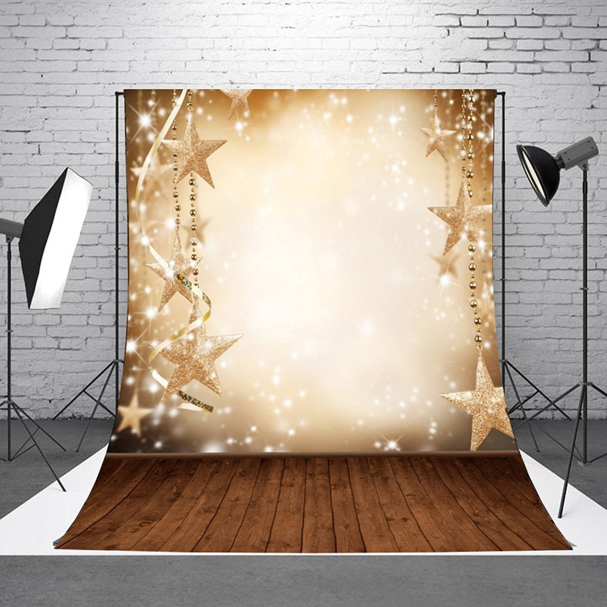 NK HOME Studio Photo Video Photography Backdrops Vinyl Fabric Christmas Holiday Party Decorations Background Screen Props 3x5ft 30+ Colors