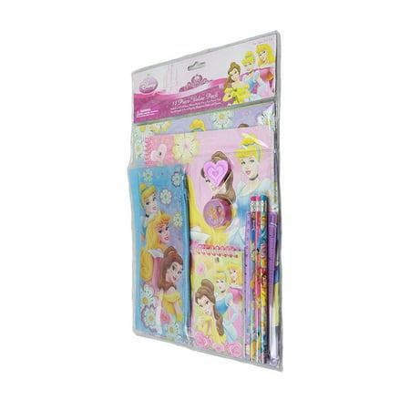 Stationery Set - Disney - Princess 11 pcs Value Pack School Supply
