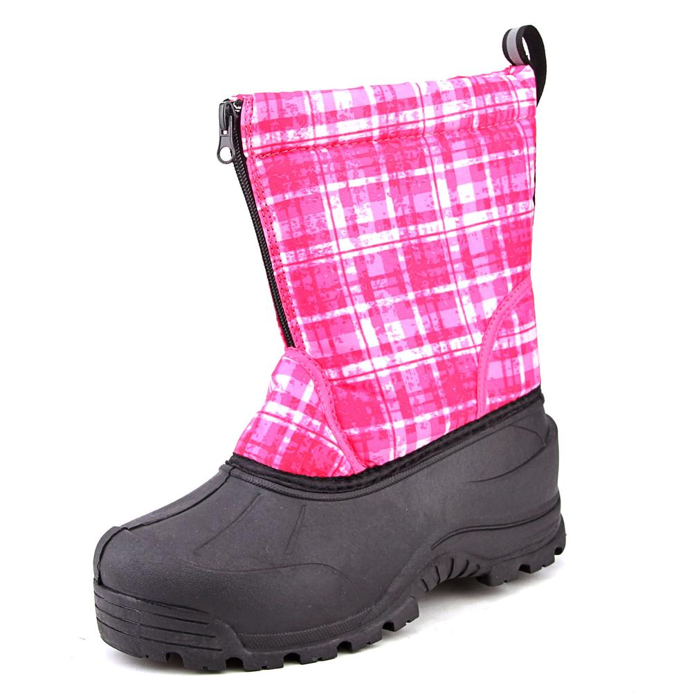 Northside Icicle Youth  Round Toe Canvas Pink Winter Boot